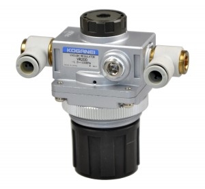 VR200 KOGANEI regulator próżni -1,3 -100 kPa